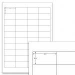 Etiketten Weiß - 48,5 x 25,4 mm