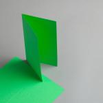 Karten Farbig DIN lang hochdoppelt Billardgrün | 25 Stück