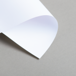 Cartes blanches DIN long simple 160 g/m²