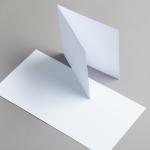Karten Weiß 155 x 155 mm 160 g/m²