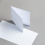 Karten Weiß 115 x 115 mm 250 g/m²