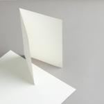 Cartes ivoire A5 double haut 200 g/m²