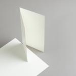 Karten Elfenbein DIN lang hochdoppelt 200 g/m²