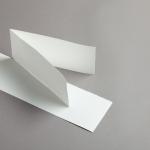 Echt Bütten Karten DIN lang querdoppelt 25 Stück