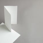 Echt Bütten Karten DIN lang hochdoppelt Altweiß | 25 Stück