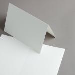 Echt Bütten Karten A5 hochdoppelt Altweiß | 25 Stück
