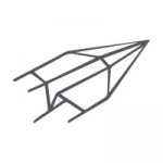 Echt Bütten (carta a mano) Biglietti A6 doppi larghi 25 pezzi