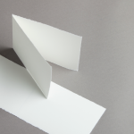 Echt Bütten Karten A6 querdoppelt 25 Stück