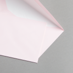 Buste da lettera colorate DIN Lang con fodera Rosa
