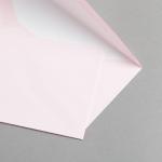 Farbige Briefhüllen DIN lang mit Futter Rosa
