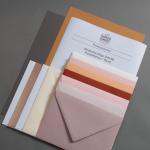 Probepäckchen Briefumschläge DIN B6 Pastellfarben / Blush