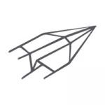 Cartes de couleur Bleu foncé 120 x 169 mm, double transversal