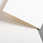 Watercolour cards natural white half-fold 118 x 168 mm