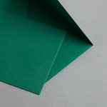 Briefumschläge DIN B6 Moosgrün 25 Stück