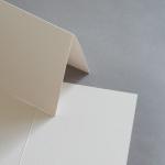 Colorplan Karten DIN B6 hochdoppelt 169 x 120 mm Sand