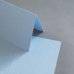 Colorplan Karten DIN B6 hochdoppelt 169 x 120 mm Hellblau