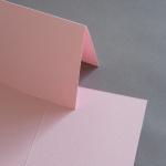 Colorplan Karten DIN B6 hochdoppelt 169 x 120 mm Rosa