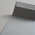 Colorplan Hüllen 155x155 mm Steingrau