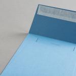 Colorplan Hüllen 155x155 mm Stahlblau