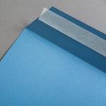 Colorplan Buste DIN C4 Blu acciaio