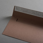 Colorplan envelopes DIN lang Leather brown