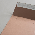 Colorplan Hüllen 155x155 mm Lederbraun