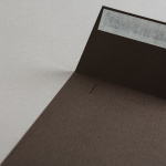 Colorplan Buste DIN 155x155 mm Marrone cioccolato