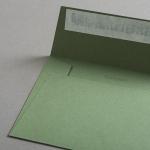Colorplan Hüllen DIN B6 gerade Klappe Olivgrün