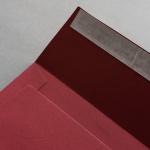 Colorplan Buste DIN C5 Rosso scuro
