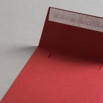 Colorplan Hüllen 155x155 mm Dunkelrot