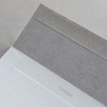 Colorplan Enveloppes DIN C5 Gris clair