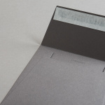Colorplan envelopes 155x155 mm Dark Grey