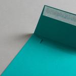 Colorplan Hüllen 155x155 mm Türkisgrün