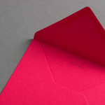 Colorplan Buste DIN B6 lembo di chiusura appuntito Hot Pink