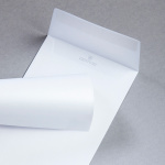 Enveloppes Sirio Pearl DIN long Ice White
