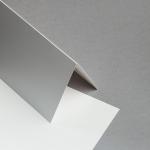 Sirio Pearl Karten DIN lang hochdoppelt Perlmutt