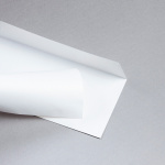 Enveloppes Merida Pearl DIN long Blanc scintillant