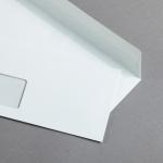Zanders Classic Enveloppes DIN long bande adhésive avec fenêtre | sans doublure