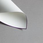 HS Luxury Papers - Karten A6 einfach lila gerändert | 100 Stück