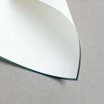 HS Luxury Papers - Karten A6 einfach grün gerändert | 25 Stück