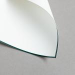 HS Luxury Papers - Karten A6 einfach grün gerändert | 100 Stück