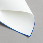HS Luxury Papers - Biglietti A6 semplici bordatura blu | 25 pezzi