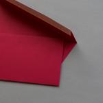 Hot Colors Hüllen Ziegelrot | ohne Fenster