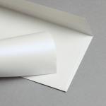 Metallics schimmernd Hüllen DIN lang Perlmutt | ohne Fenster