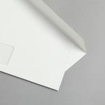 Metallics schimmernd Hüllen DIN lang Perlmutt | mit Fenster
