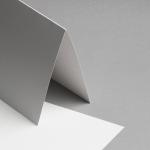 Metallics schimmernd Karten 150 x 150 mm hochdoppelt Perlmutt