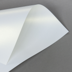 Metallics schimmernd 120 g DIN A4 | Weiß mit Goldschimmer