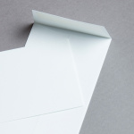 Rives Design Hüllen DIN lang Weiß | ohne Fenster