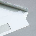 Rives Design Hüllen DIN lang Weiß | mit Fenster