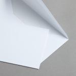 MAYSPIES Premium Hüllen mit Futter nassklebend DIN lang | 100 Stück
